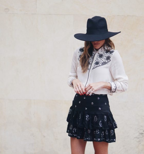 The Mini Skirt for Fall